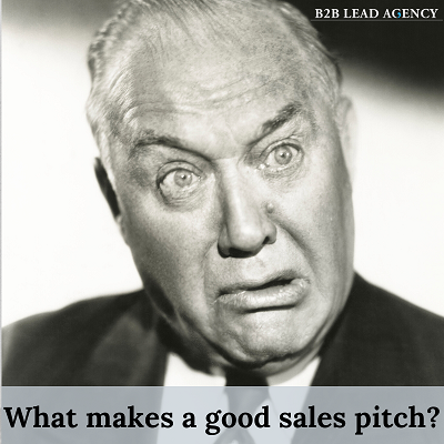 What makes a good sales pitch?